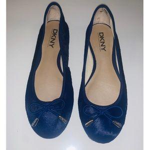 DKNY Calf Hair Ballet Flats